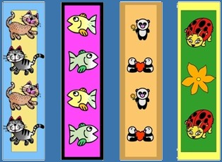 colored-animals-bookmarks