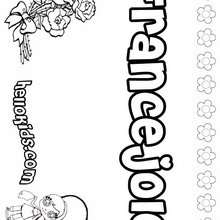 france coloring pages for girls | FRANCE coloring pages - Eiffel tower