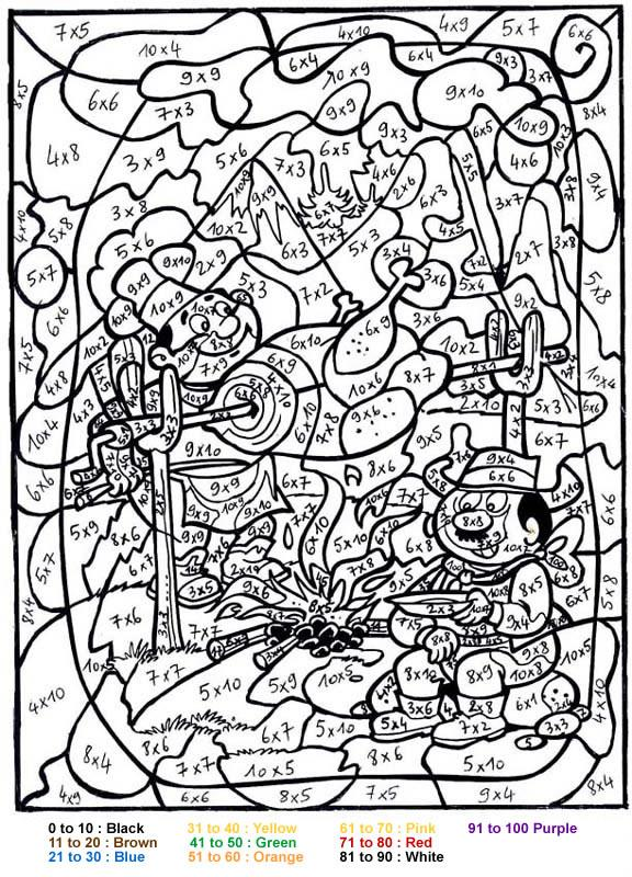 coloring pages about colors - photo#10