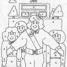 Family Coloring Pages Hellokids Com