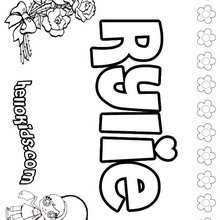 R Names For Girls Coloring Posters 0 Printables To Create Name Coloring Pages