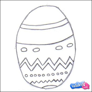 How To Draw An Easter Egg