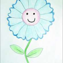 How To Draw A Nice Flower Drawing For Kids Lessons
