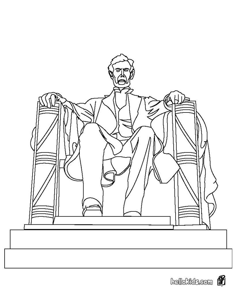 Statue of liberty coloring pages - Hellokids.com