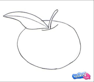 How do draw an Apple