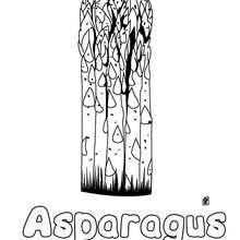 Asparagus coloring pages - Hellokids.com