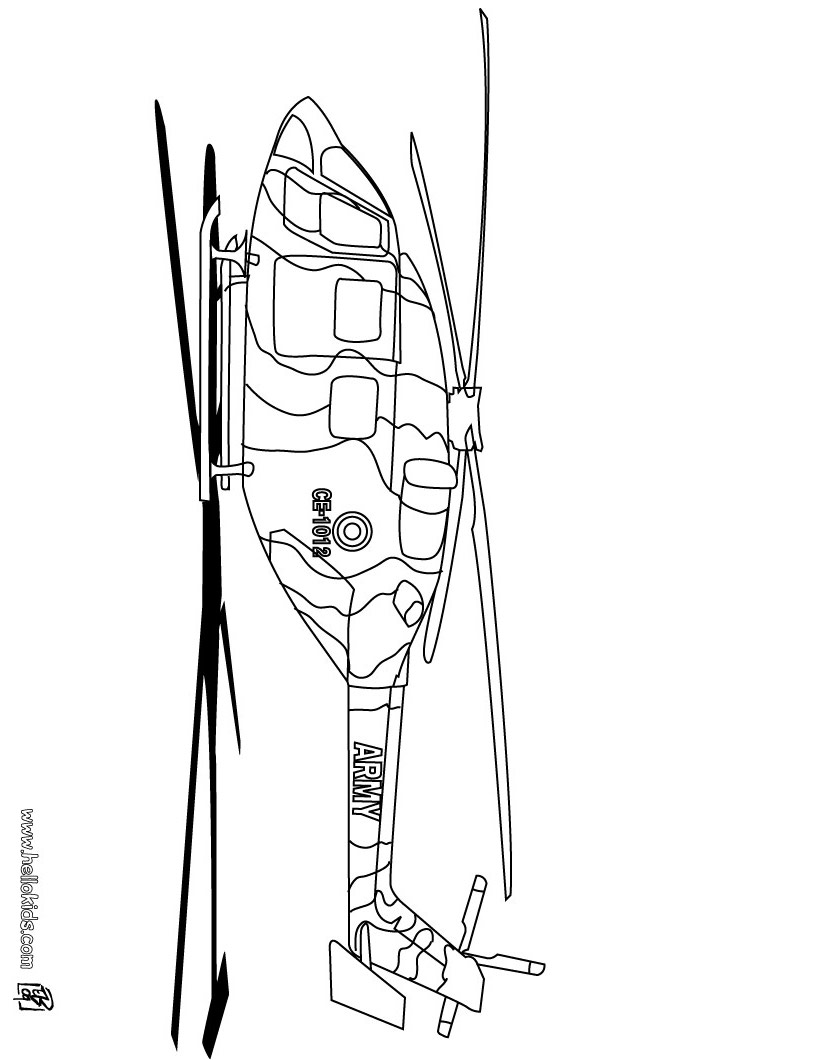 eurocopter helicopter coloring pages. Black Bedroom Furniture Sets. Home Design Ideas
