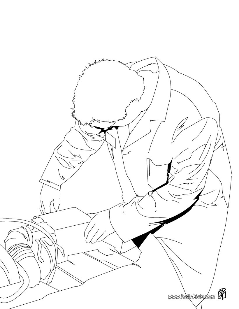 Mech coloring pages coloring pages for Mechanic coloring pages
