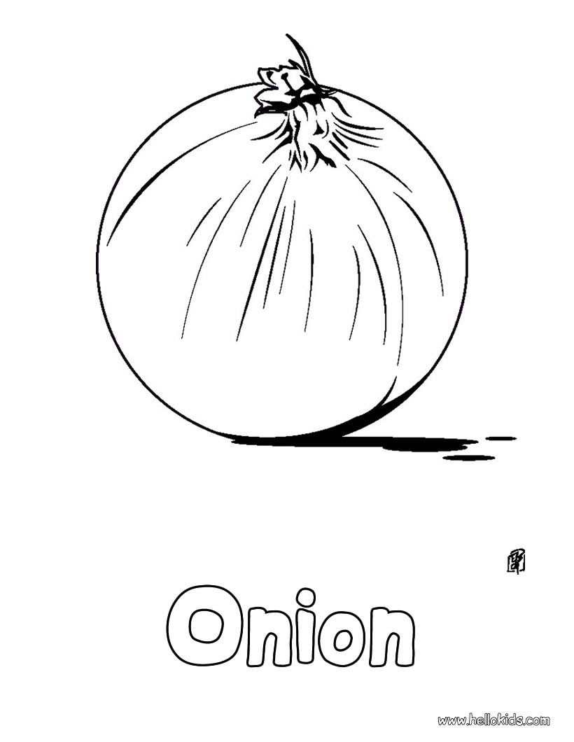 Vegetable Coloring Pages Coloring Pages Printable Coloring Pages Hellokids Com