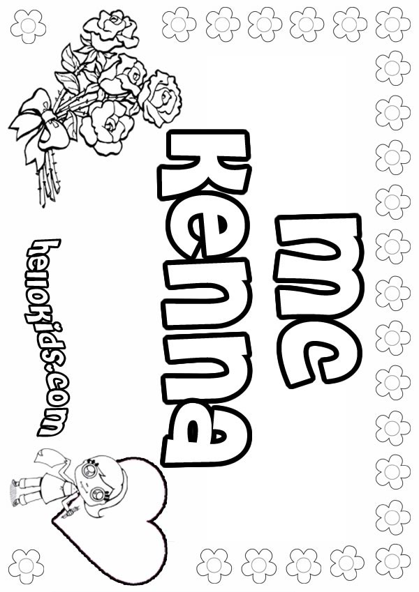 Mc kenna coloring pages - Hellokids.com
