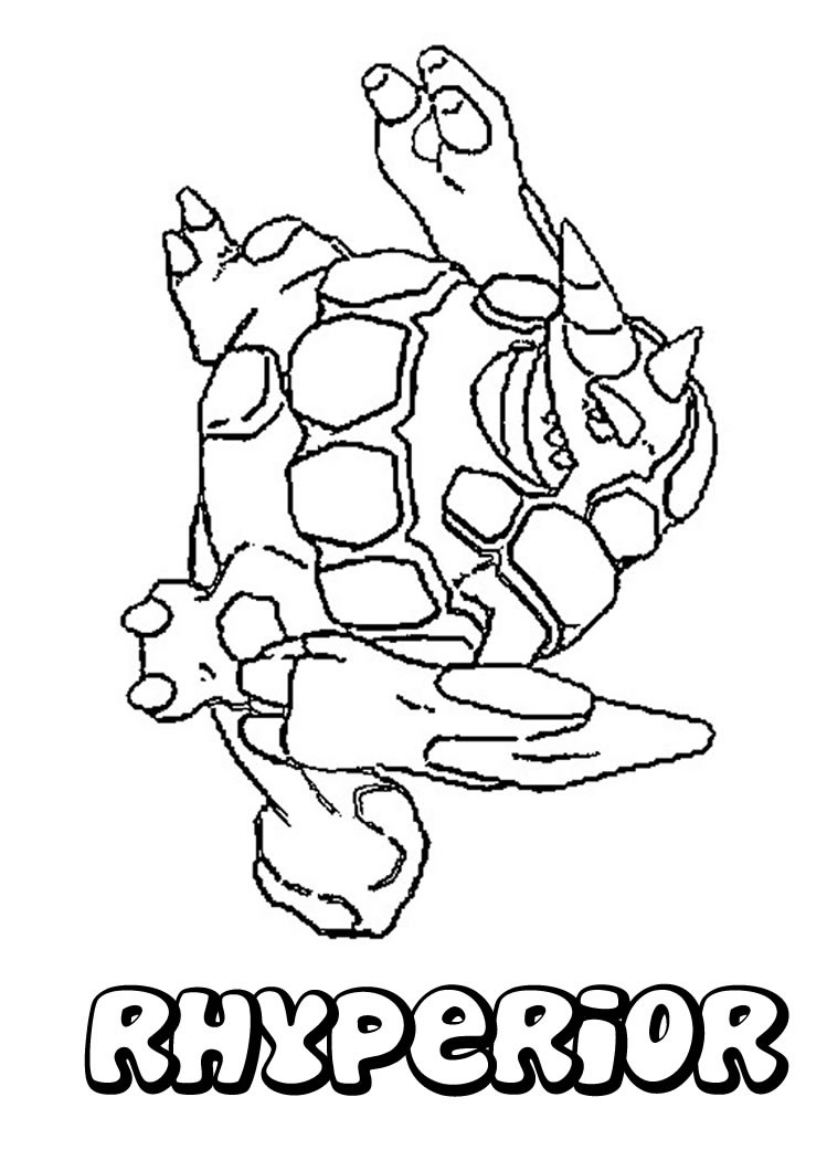 ground pokemon coloring pages - photo#26