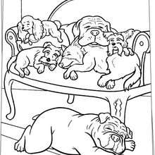 Hotel For Dogs Coloring Pages 14 Movies Online Coloring Sheets And Printables For Kids