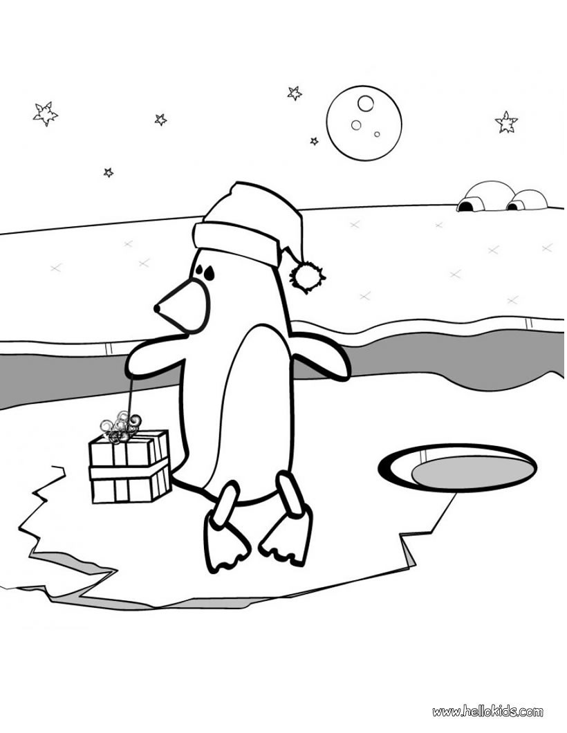 Penguins Pictures to Colour Happy Feet Penguins Colouring