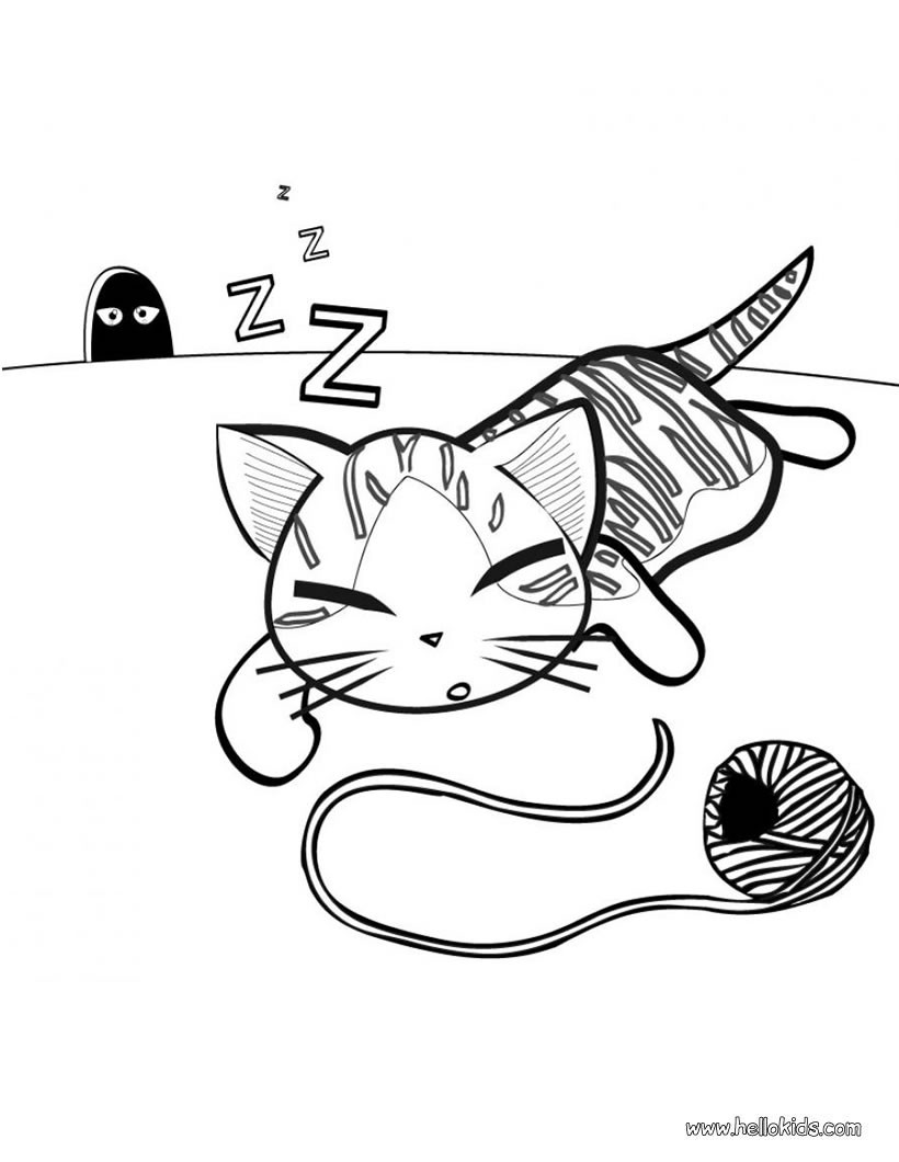 Cat Coloring Pages 45 Free Pets And Animals Coloring Pages Online Cute Pets Coloring Sheets For Kids