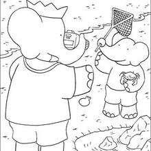 Cartoon Coloring Pages Hellokids Com