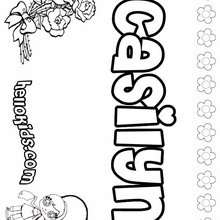 caroline coloring pages - photo#10