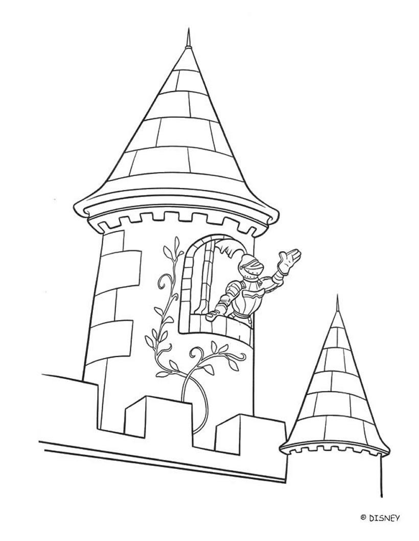 old castle little einsteins coloring pages hellokids com