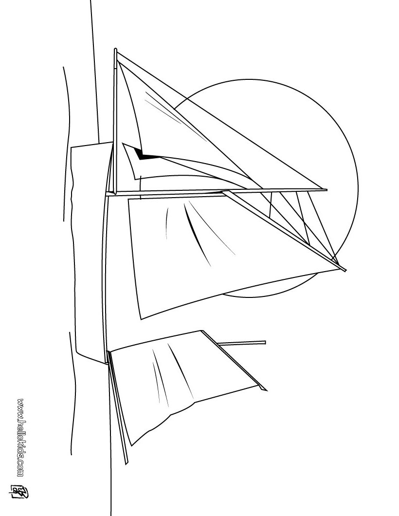 yacht coloring pages - photo #23