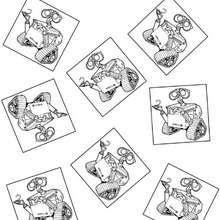 Find differences with WALL-E  - Coloring page - MOVIE coloring pages - WALL.E coloring pages