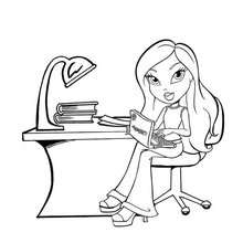 Bratz Coloring Pages 18 Online Toy Dolls Printables For Girls