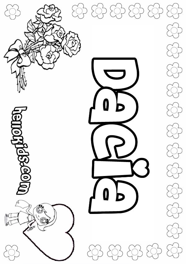Dylan Coloring Pages Hellokids Com