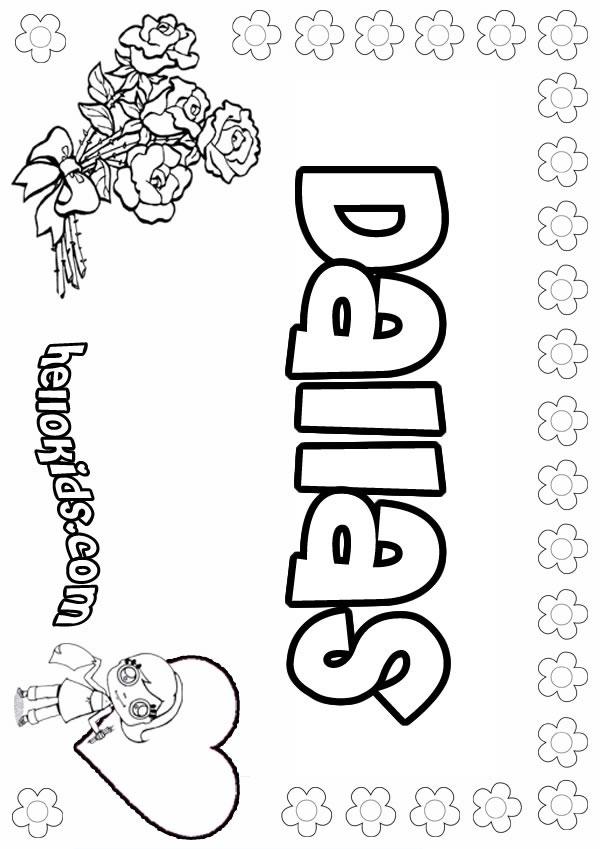 dallas cowboy cheerleaders coloring pages - photo#2
