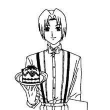 Akasaka Keiichiro coloring page