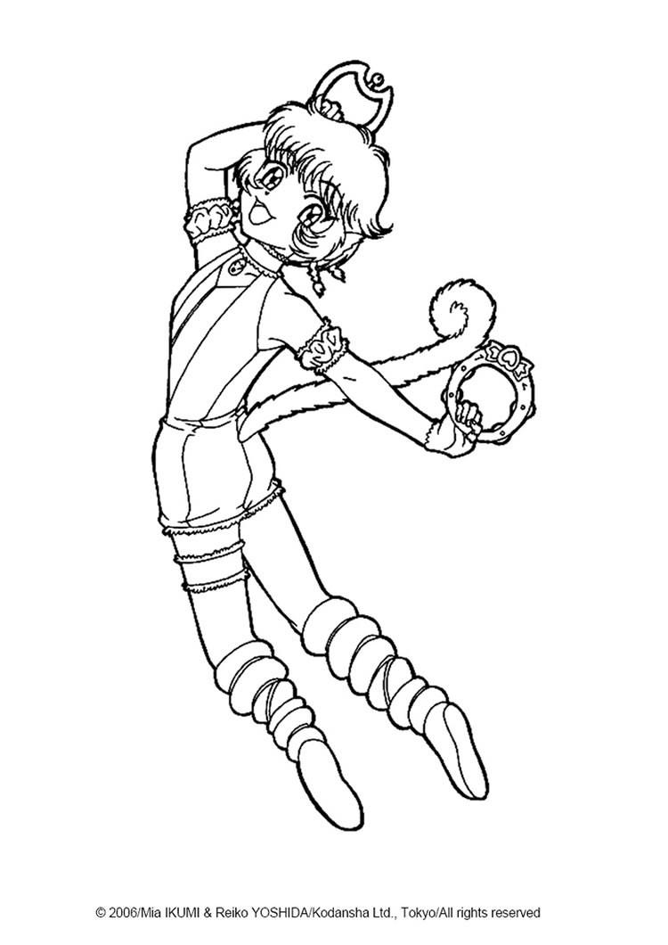 tokyo mew ichigo coloring pages - photo#17