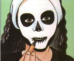 skeleton-face-painting