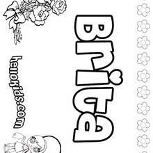 brianna name coloring pages | Brianna coloring pages - Hellokids.com