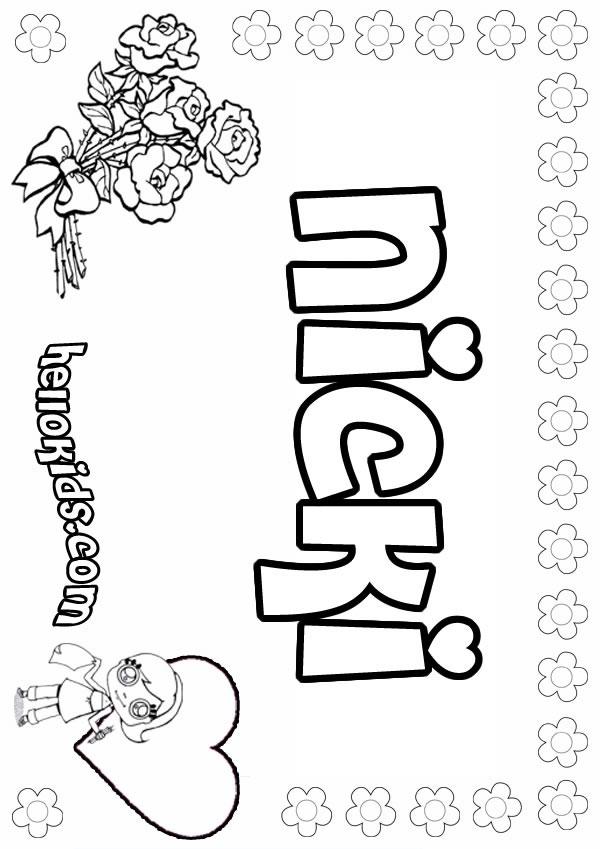 nicki minaj coloring pages - photo#34