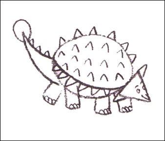 ankylosaurus-step4