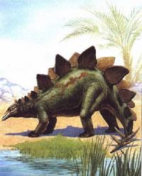 Dinosaurus-Stegosaurus