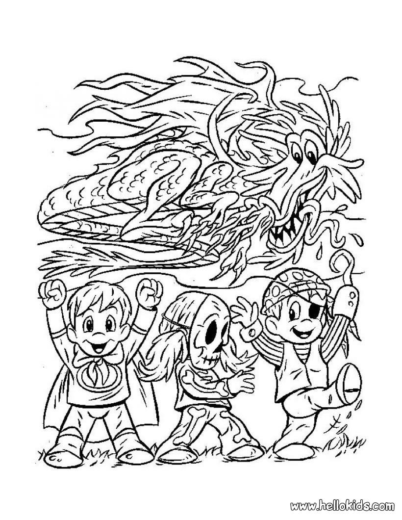 cursed aliens coloring pages hellokids com