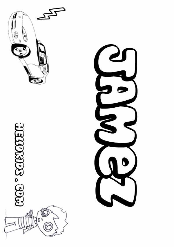 James Coloring Pages Hellokids Com