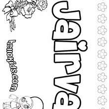 J Names For Girls Coloring Pages 0 Printables To Create Your Name