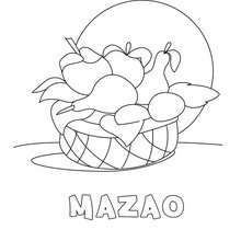Mazao coloring page - Coloring page - HOLIDAY coloring pages - KWANZAA coloring pages