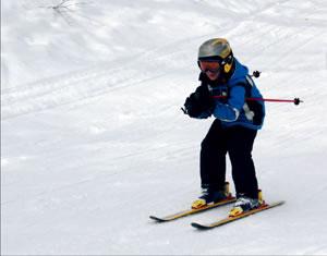 child ski