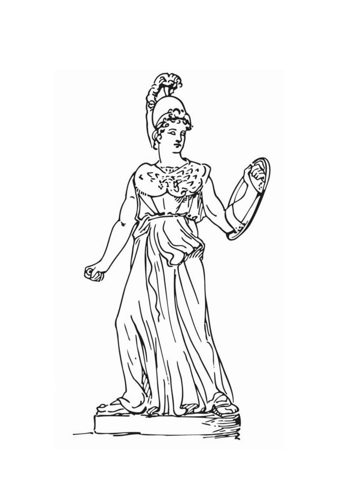 Gallery Gods And Goddesses Of Greek Mythology Coloring Pages