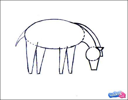 How To Draw Zebra Hellokids Com