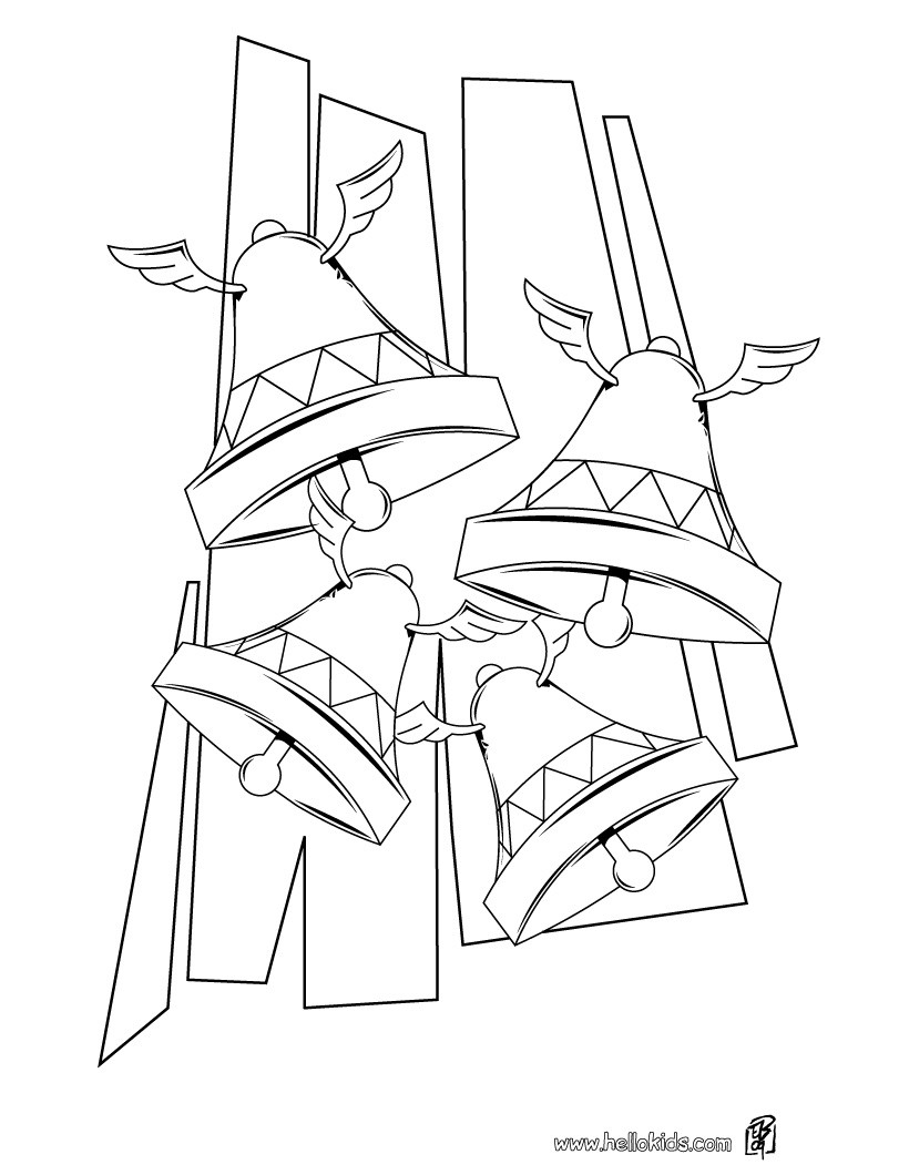 Ringing Bells coloring page