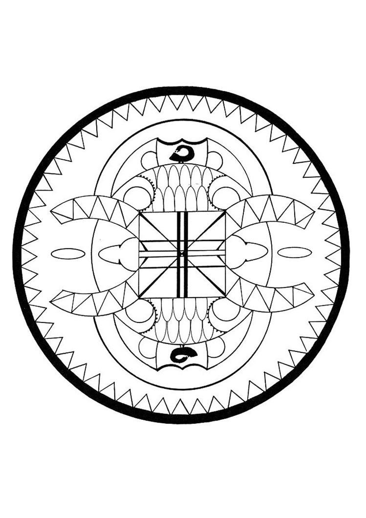 Free Worksheet Mandala Worksheets african scorpion mandala coloring pages hellokids com worksheet