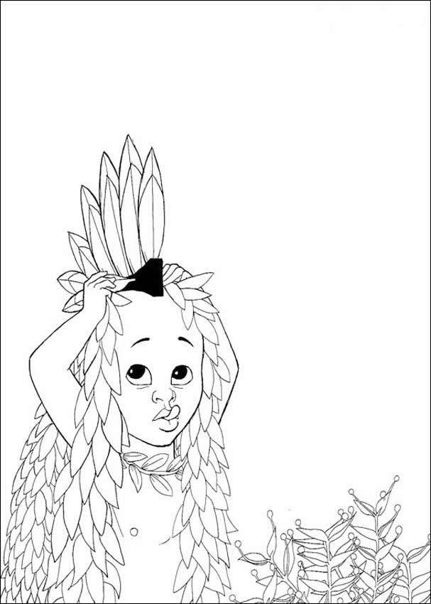 kirikou coloring pages - photo#15