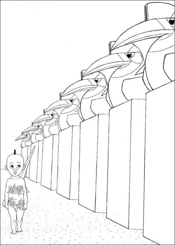 kirikou coloring pages - photo#22