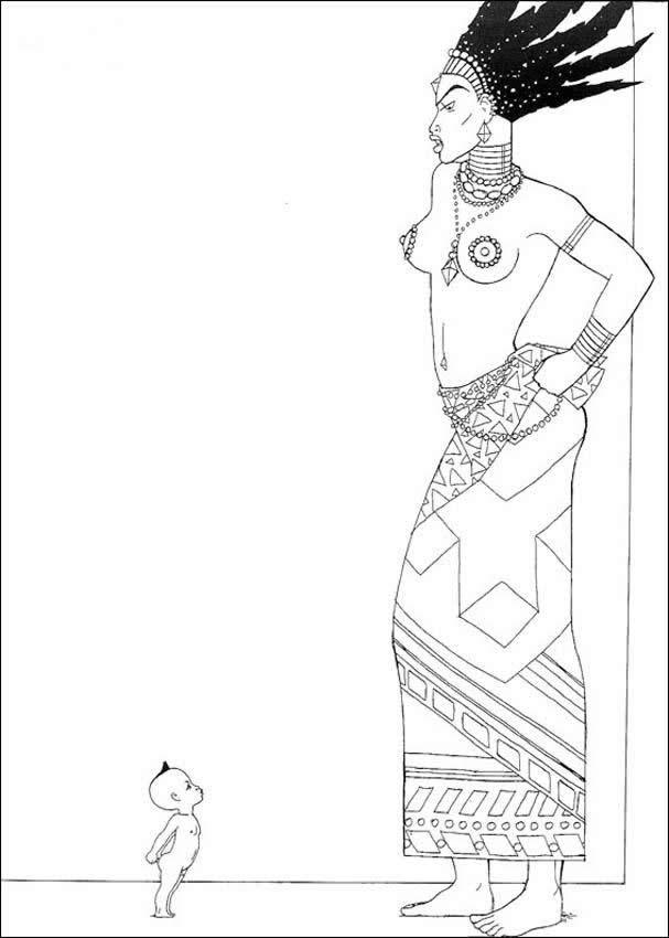 kirikou coloring pages - photo#4