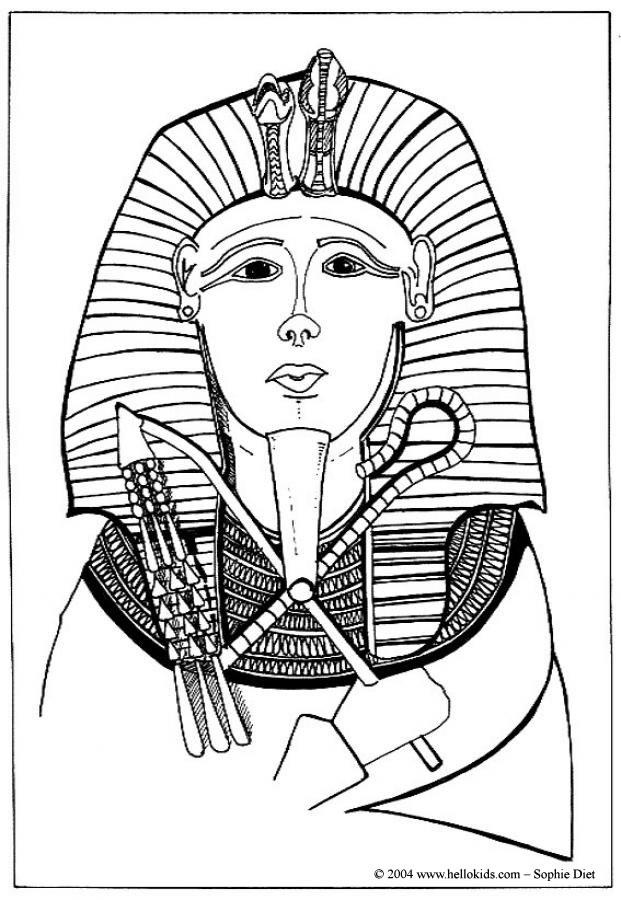 pharaoh khufu coloring pages - photo#25