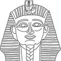 ÄGYPTEN zum Ausmalen