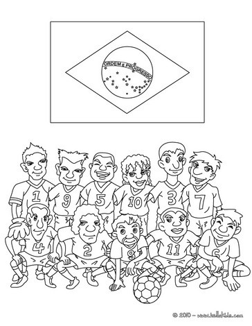 brazil coloring book pages - photo#17