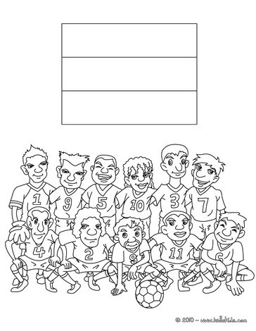 Team of germany coloring pages  Hellokidscom