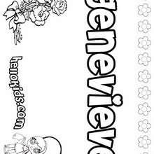 genevieve page